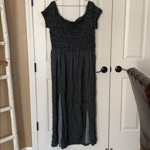 City chic smocked off the shoulder dress NEW XL 22